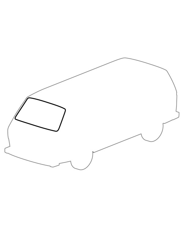 windshield Seal Without Trim Recess