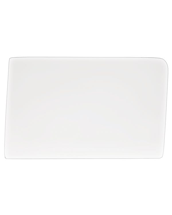 Cab Door Glass, Clear in Colour, for Left Side.