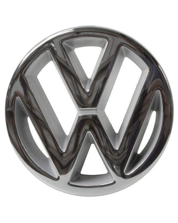 Chrome VW Grille Badge 125mm