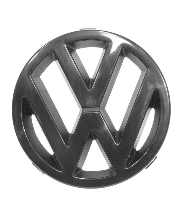 Black VW Grille Badge 125mm