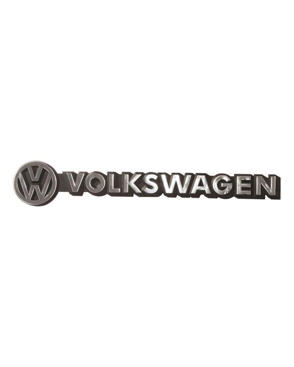 Rear Badge - Volkswagen Script