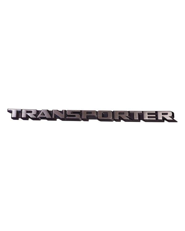 Transporter Inscription Badge for the Tailgate