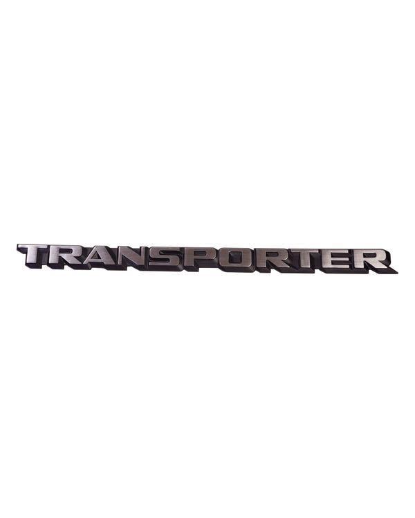 Tailgate Transporter Inscription Badge