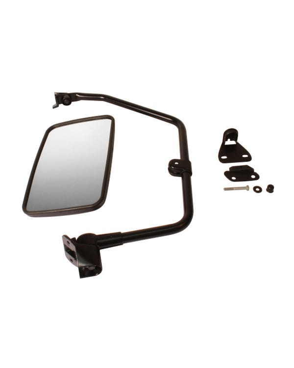 Truck Style Wing Mirror with Convex Glass Left