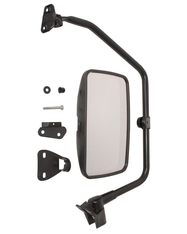 Truck Style Wing Mirror with Convex Glass Right
