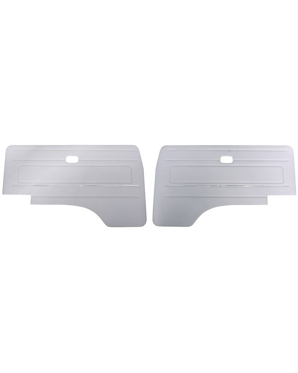Cab Door Panels with OE Trim LHD with Electric Windows, Pair