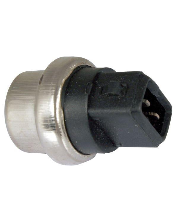Coolant Temperature Sensor, Black/Green 2 Pin 20mm