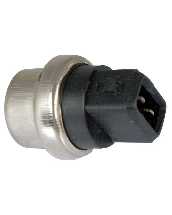 Coolant Temperature Sensor, Black/Green 2 Pin 20mm