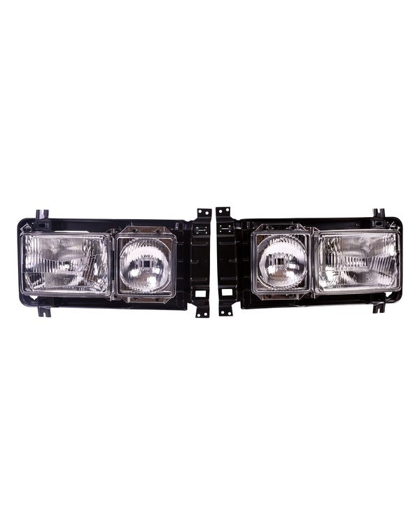 Square Headlight Kit Left Hand Drive