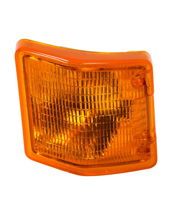 Front Turn Signal Unit with Amber Lens, Left