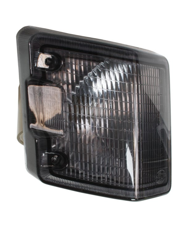 Front Turn Signal Unit with Smoked Lens, Left