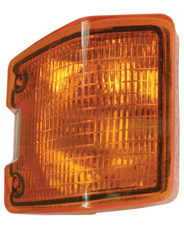 Front Turn Signal Unit with Amber Lens, Right