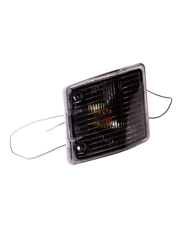 Front Turn Signal Unit with Smoked Lens, Right