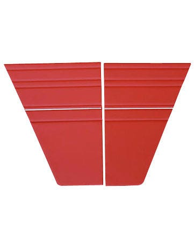 Rear Quarter Panel Interior Trim Panel Kit for Right Hand Drive