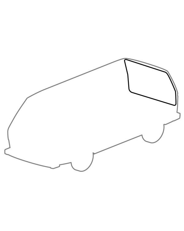 Seal, Rear Hatch to Body