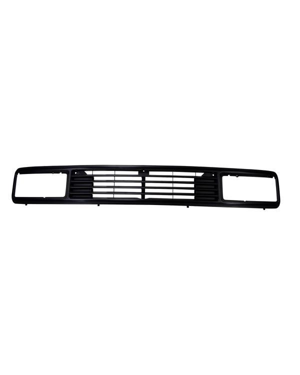 Badgeless Upper Front Grille for Rectangular Headlights