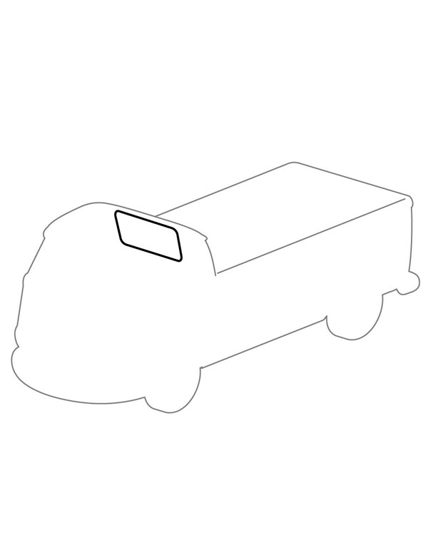 Rear Window Seal for Pick-Up