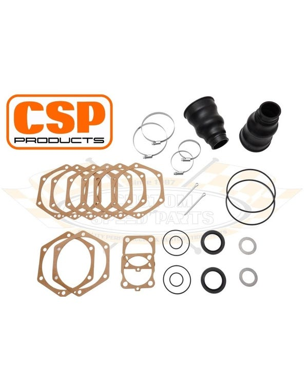 Swing Axle Tube Boots and Gasket Set