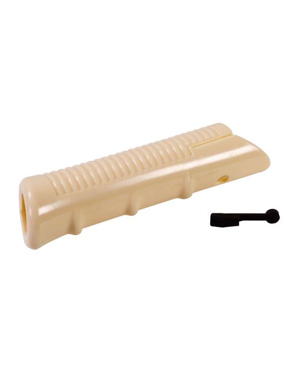 Handbrake Handle Grip Cover, Ivory Coloured