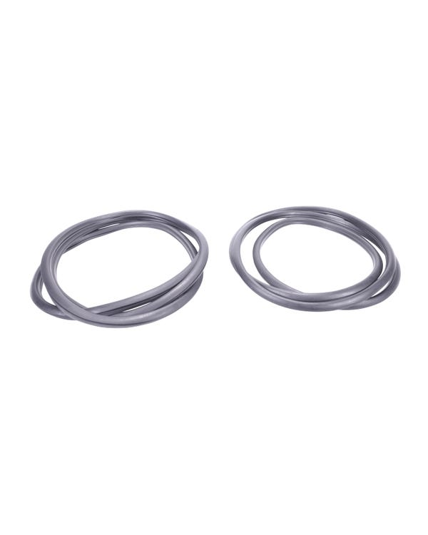 Pair of Inner Pop Out Window Seals Notch or Square Back