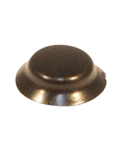 Screw Cover Cap finished in Black