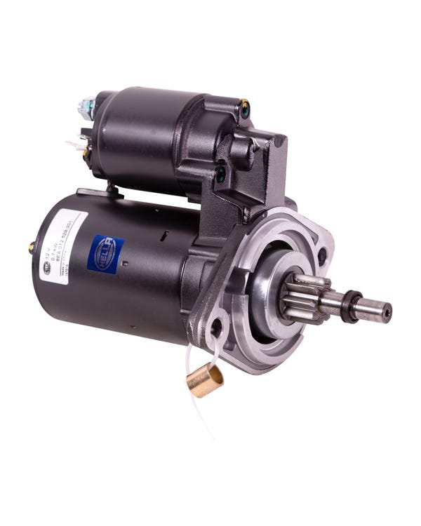 Starter Motor 12 Volt for Manual transmission, Hella