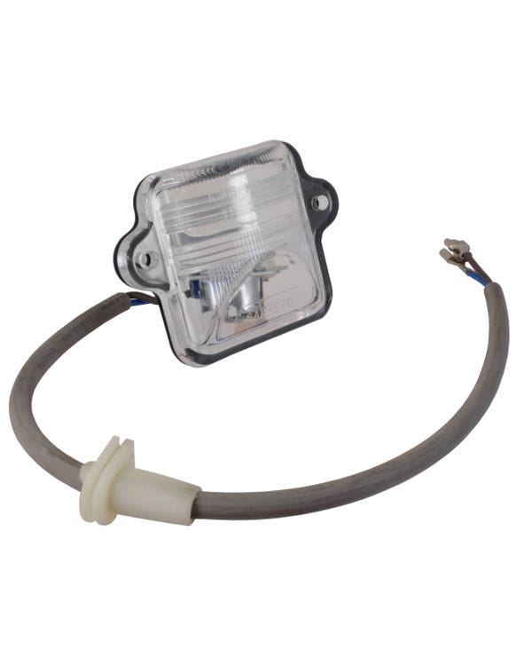 Number Plate Light Assembly