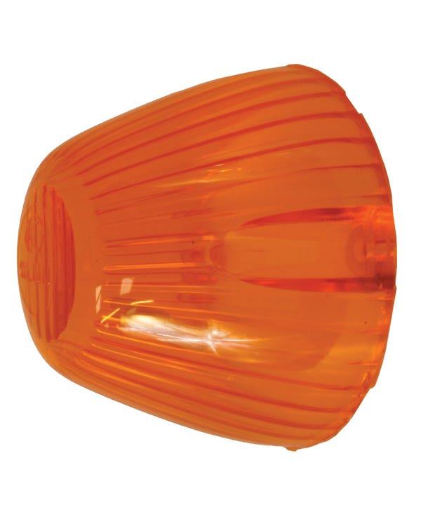 Bullet Front Indicator Lens Amber