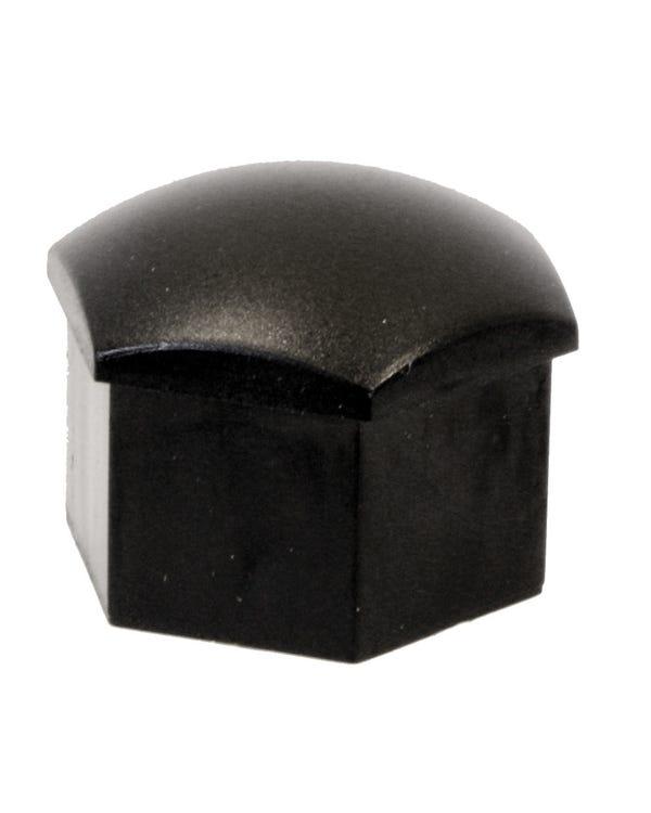 Wheel Bolt Black Plastic Cap 17mm