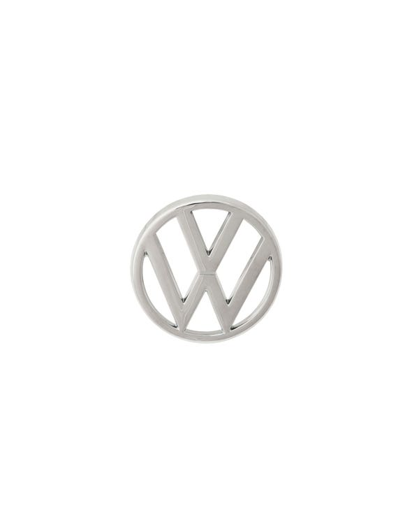 Chrome VW Front Grille Badge 95mm