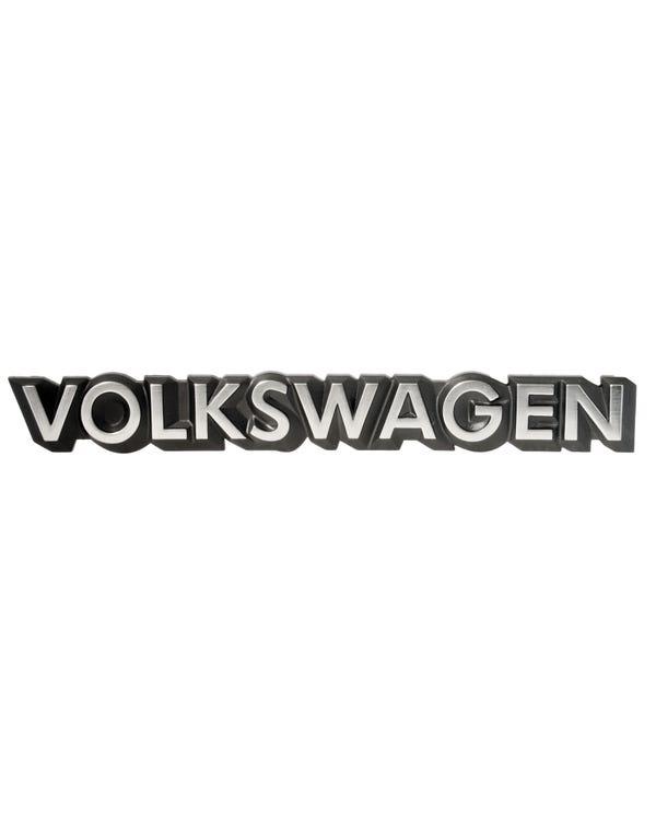 Schriftzug ''Volkswagen''