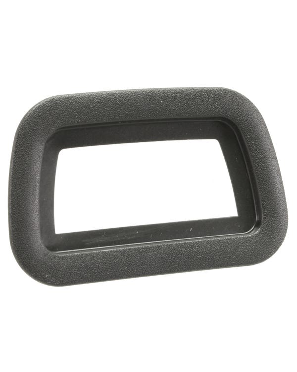 Rear View Mirror Surround Black Plastic