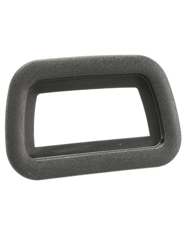 Rear View Mirror Surround Black Plastic