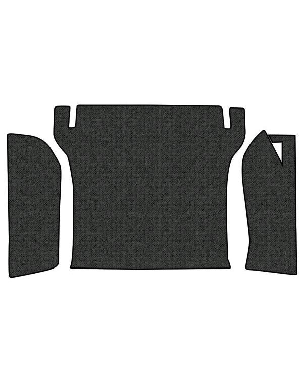 Carpet Set Bonnet Liner 3 Piece without Tyre Cover
