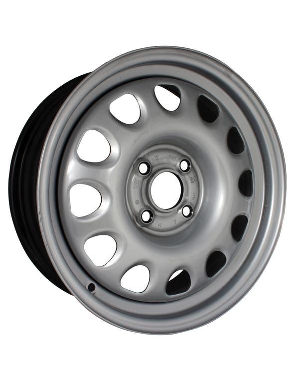 """G60 Style Steel Wheel, 6Jx15"""", 4x100 Stud Pattern ET35"""