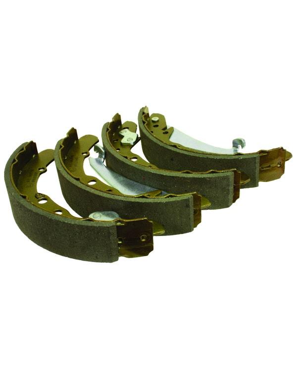 Set zapatas de freno trasera 230x40mm