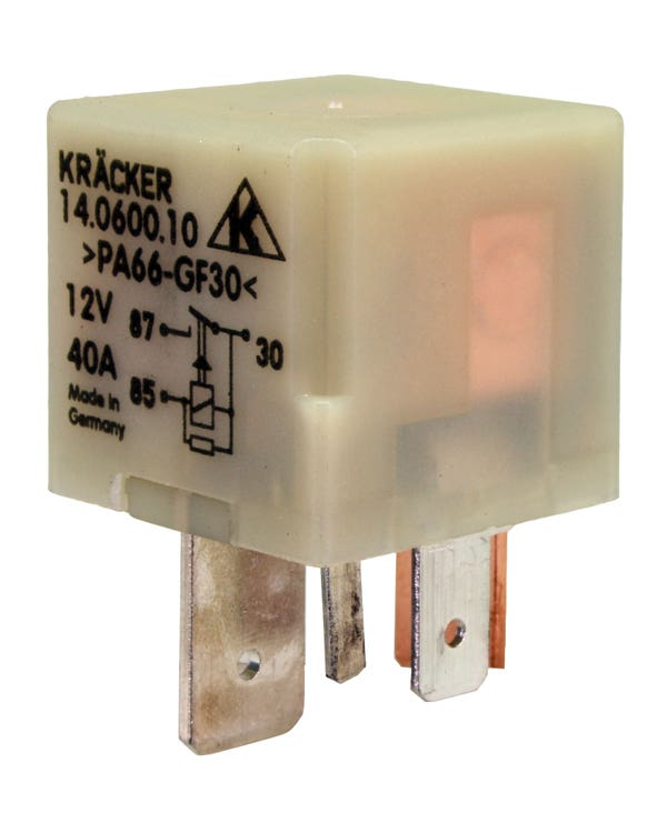 Relais für die Glühzeit, ABL Motorencode