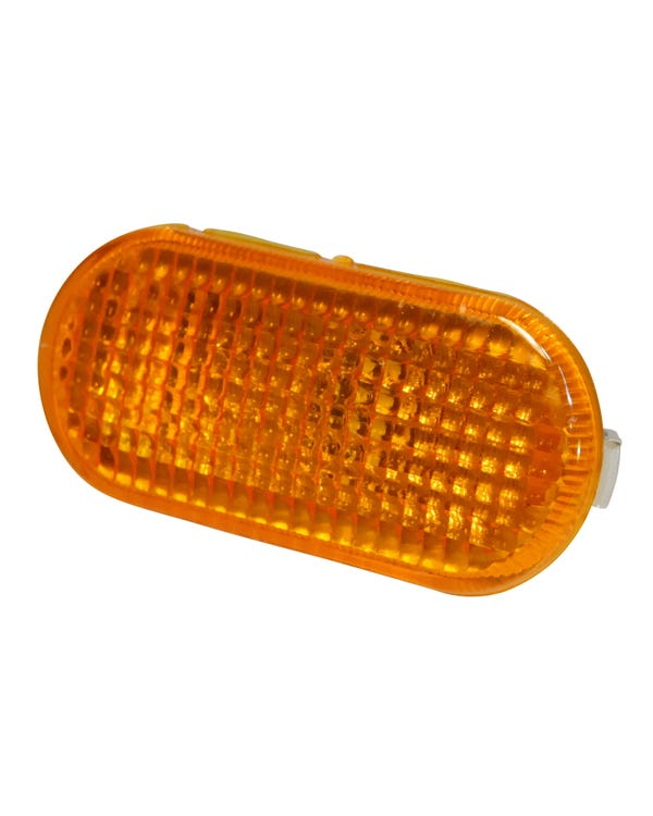 Seitenblinker, orangene Streuscheibe