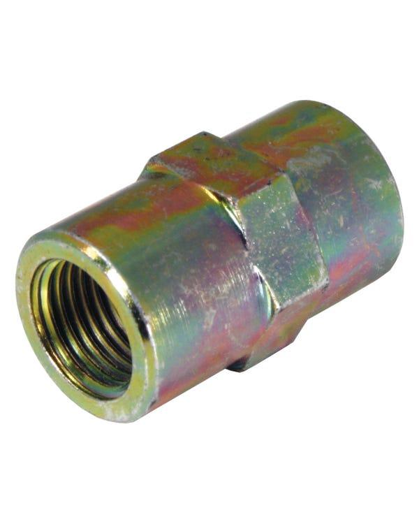 Unión de tubo de freno de metal