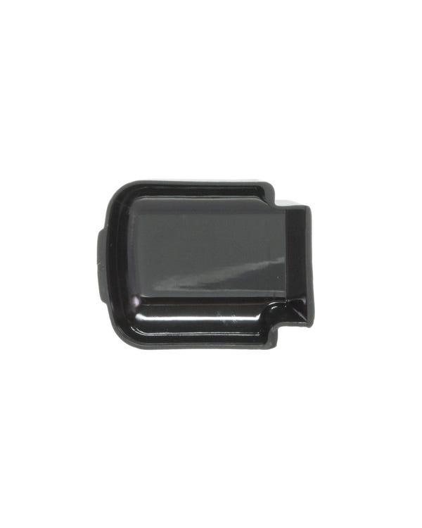 Interior Door Handle Finger Plate, Black