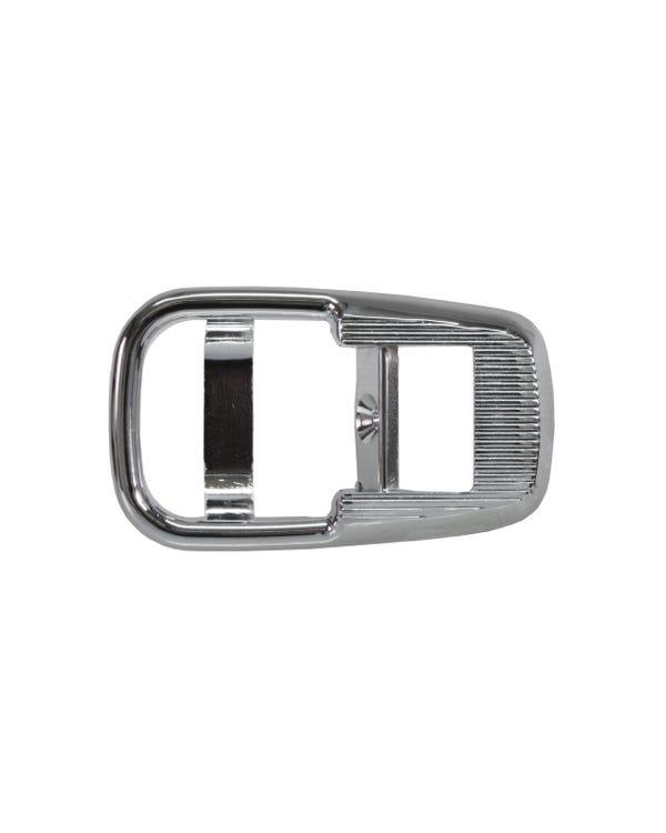 Interior Door Lock Pull Surround, Chrome