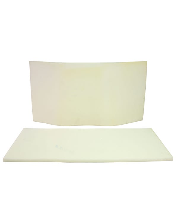 Rear Seat Padding Kit for Cabriolet including the Base and Back Piece