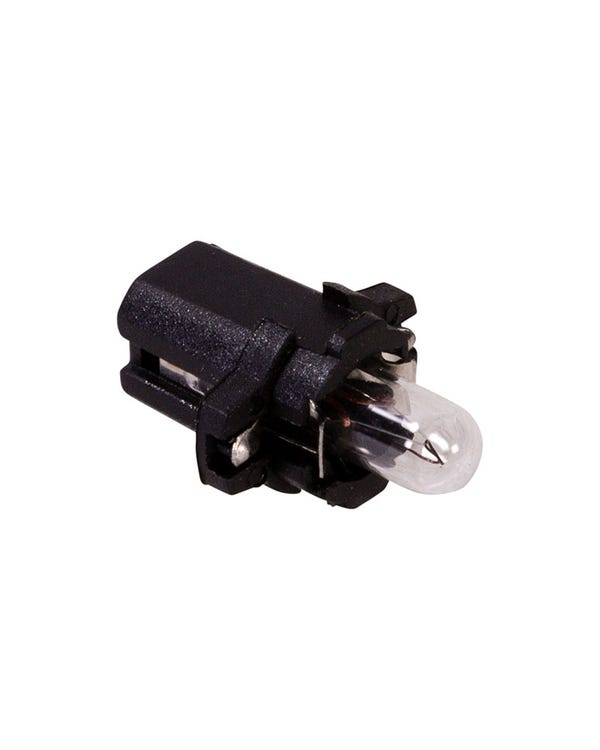 Dashboard Bulb & Holder with Black Base
