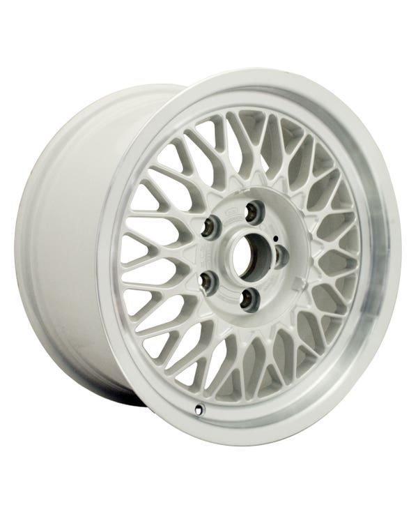 """BBS Alloy Wheel White, Audi V8, 8x16"""", 5/112, ET35"""