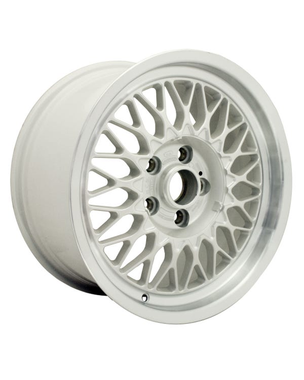 "BBS Alloy Wheel White, Audi V8, 8x16"", 5/112, ET35"