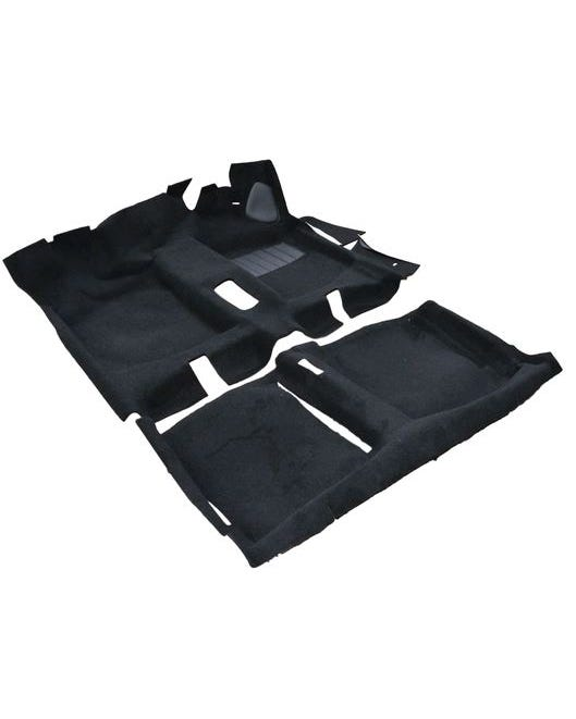 Carpet Set for Left Hand Drive Black