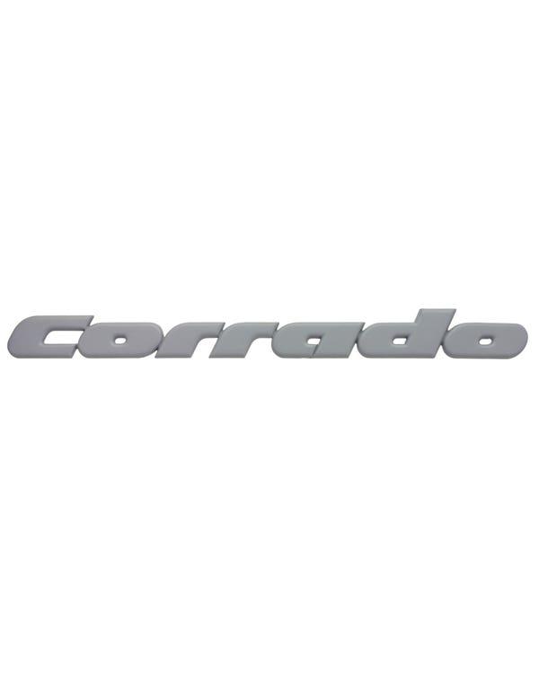Corrado Rear Script Badge Black