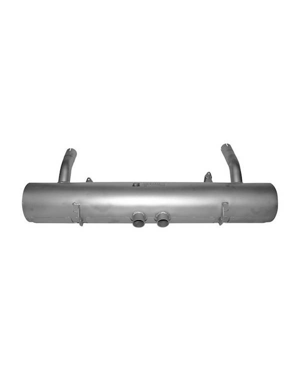 Exhaust Rear Silencer, Stainless Steel