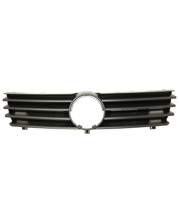 Front Grille Finished in Black