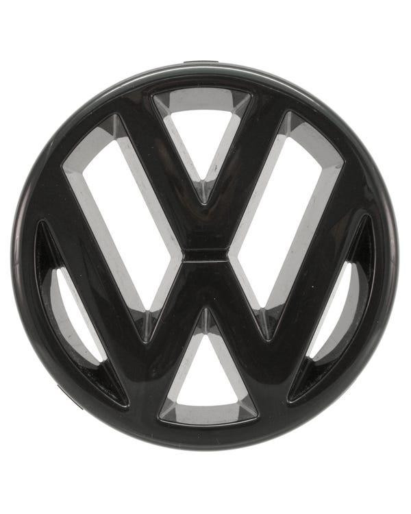 Front Grille VW Emblem Black for Long Nose Model